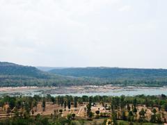Pha taem national park in Uon Ratchathani, Thailand - stock photo