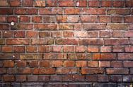 Stock Photo of Brick Wall Background.