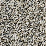 Light Rubble. Seamless Texture. - stock photo