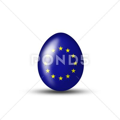 Stock Illustration of eu easteregg
