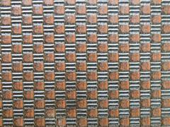 Artificial  light brown leather texture background Stock Photos