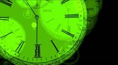 LoopNeo VJ Loops HD 1920X1080 - Textures - Cronomode 048 Stock Footage
