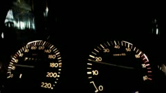 Speedometer Stock Footage