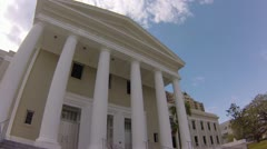 FLORIDA SUPREME COURT WIDE ANGLE Stock Footage