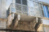 Old balcony Stock Photos