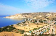 Pissouri bay Stock Photos