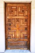 Vintage door Stock Photos