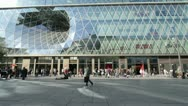 Stock Video Footage of Frankfurt Zeil Street