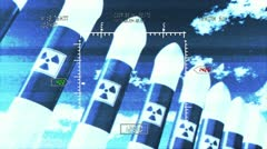 Nuclear Rockets 3 - stock footage