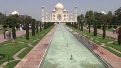 Taj Mahal Stock Footage