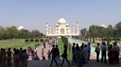 The True Symbol of love : Taj Stock Footage
