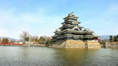 Matsumoto castle Stock Footage