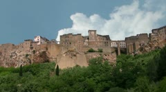 Old town in Tuscany. Italy Stock Footage