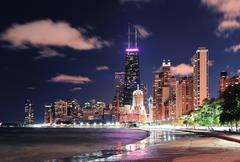 Chicago lakefront Stock Photos