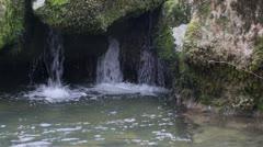 Water Cascade Stock Footage
