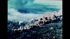B52 - Bomb Impact - stock footage