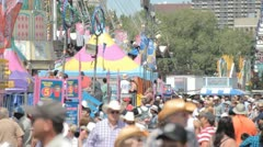 Summer Carnival Stock Footage