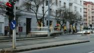 Getting Dark Budapest Hungary Winter Timelapse 3 Stock Footage