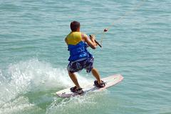 Waterskiing Stock Photos