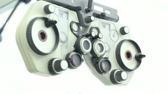 Stock Video Footage of  Eyesight diagnosis