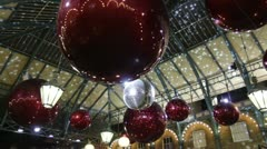 London Xmas Festivities 2012 Stock Footage