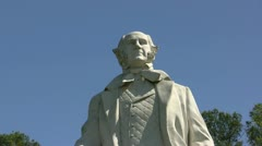 Sam Houston Statue In Texas Stock Footage