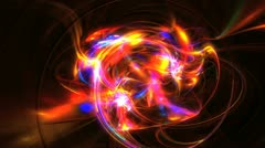 space galaxy abstract - stock footage
