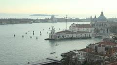 Punta della Dogana, Venice Stock Footage