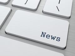 News Concept. Stock Illustration