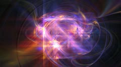 Space galaxy abstract Stock Footage