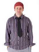 Man with dreadlocks Stock Photos