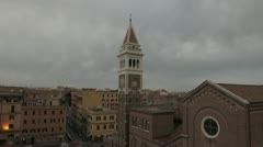 Timelapse in a neighborhood of Rome Stock Footage