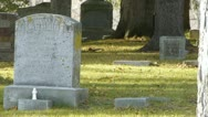 Stock Video Footage of Old Cemetary