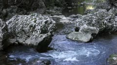 Stock Video Footage of Mountain river