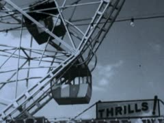 Stock Video Footage of Wonder Wheel 1 - Coney Island
