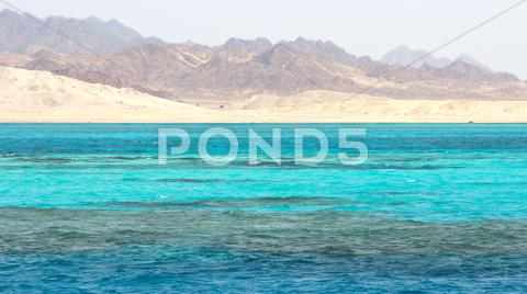Stock photo of Ras Mohammed in the Red Sea, Egypt