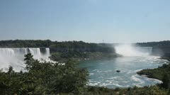 Stock Video Footage of Niagara Falls