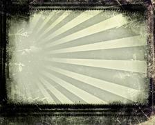 grunge retro style frame for your projects - stock photo