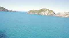 Stock Panoramic Video of Bay of Many Coves, Picton, New Zealand Stock Footage