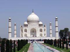 Memorable Taj Mahal - stock photo