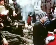 WW2 - Buchenwald - Survivors Stock Footage