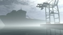 Industrial Port 4 720 Stock Footage