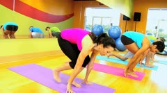 Physical Exercise Modern Health Studio - stock footage