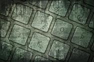 Stock Photo of grunge keyboard