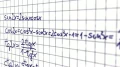 Science Mathematics 11 720 Stock Footage