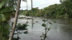 Suriname, Grand Rio river, Awarradam Stock Footage