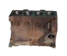 the cylinder head of the engine - stock photo