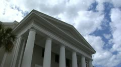 FLORIDA SUPREME COURT TIME LAPSE Stock Footage