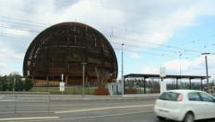 CERN in Geneva Stock Footage