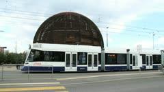 CERN in Geneva Stock Footage
